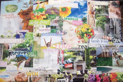Vision boards with your kids
